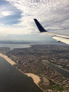 Erster Blick auf New York